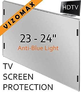 23-24 inch Vizomax Anti-Blue Light Monitor/TV Screen Protector for LCD, LED, Computer & Plasma HDTV