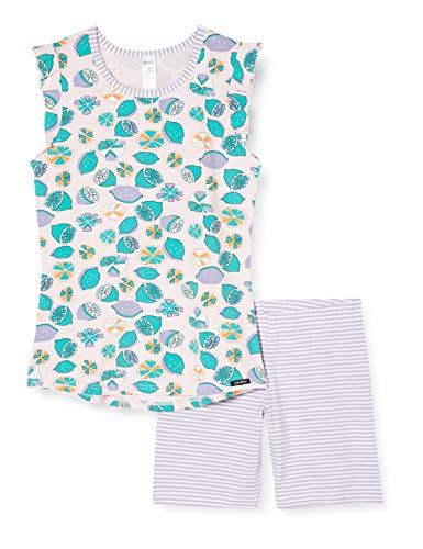 Skiny Mädchen Pyjama kurz Cosy Night Sleep Girls Zweiteiliger Schlafanzug, Mehrfarbig (Rose Lemons 2648), (Herstellergröße:152)
