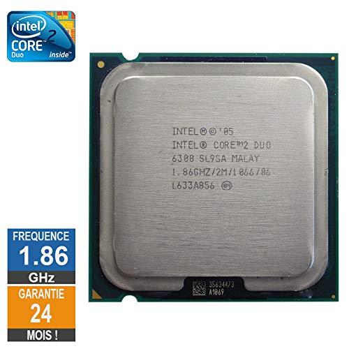 Little Phoenix - Procesador Intel Core 2 Duo E6300 (1600 GHz, SL9SA LGA775 2 MB, 2 MB)