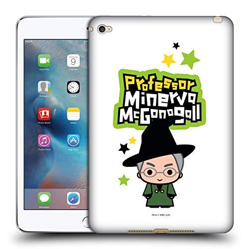 Official Harry Potter Professor Mcgonagall Deathly Hallows XXVIII Soft Gel Case Compatible for Apple iPad mini 4