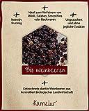 1kg dunkle BIO Weinbeeren getrocknet - aromatische Rosinen in bester Bio-Qualität, ungezuckert und ungeschwefelt - 5