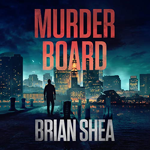 Murder Board audiobook cover art