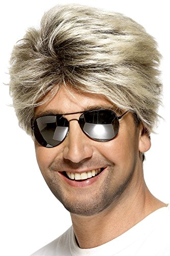 Men's 80s Wig. Ideal for Don Johnson look