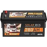 Solarbatterie 12V 280Ah EXAKT DCS Wohnmobil Versorgung Boot Solar Batterie