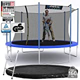 Kinetic Sports Outdoor Gartentrampolin 396 cm - 5