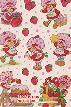 Vintage Strawberry Shortcake Notebook   110 Pages Lined 6 x 9