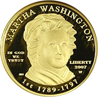 martha washington gold coin