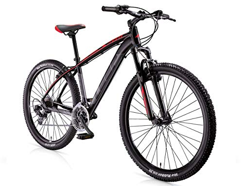 MBM Loop 27.5' Disk BR. MTB all 21S STEF, Bici Unisex Adulto, Rosso A20, 38