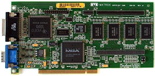 MATROX 590-05 REV.B 4MB PCI VIDEO CARD, FCC ID: ID7059000, MGA-MIL/4/IB3, IBM FRU 75H9227