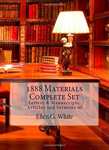 Download 1888 Materials 4 Volume Set (1888 Materials of Ellen G. White) 1515116123