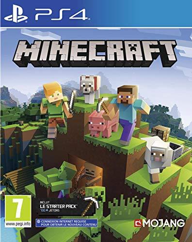 Minecraft Bedrock pour PS4 [Importación francesa]