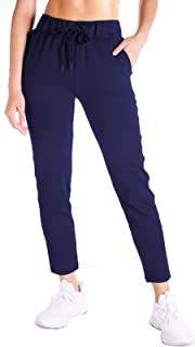 Yogipace Petite/Regular/Tall Women's 7/8 On The Fly Pants Lightweight Casual Joggers Lounge Pants for Travel Commute Yoga