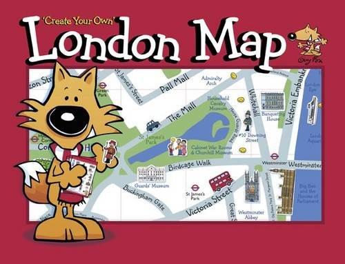 Harper, K: Guy Fox 'Create Your Own' London Map