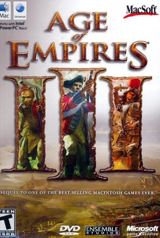 空虚冷笑する触覚Age Of Empires III (Mac) (輸入版)