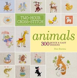 Cute animals cross stitch pattern Halloween funny little animals cartoon Counted cross stitch Easy trick or treat nursery baby room decor