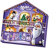 Milka Magic Mix Adventskalender, Mix aus 7 Milka Leckereien, Zwei zufällige Designs, 204g