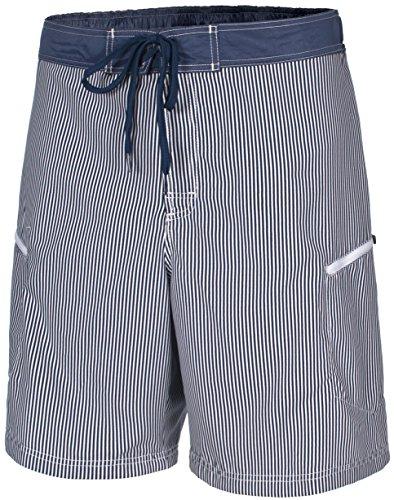Trespass Hombres de Victor–Pantalones Cortos para Hombre, Hombre, MABTSHK10009_MBSXXS, Moonlight Blue Stripe, XX-Small