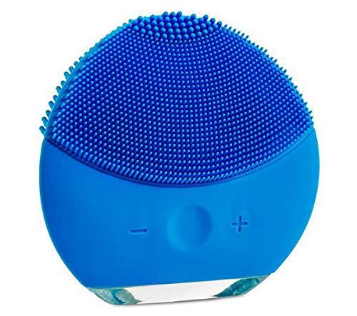 Escova Limpeza Facial Massageador Recarregável Mini Luna 2 - Azul