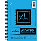 "Canson XL Series Mix Media Pad, 5.5""X8.5"" Side Wire"