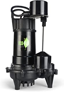 ECO-FLO Products Products ECD50V 1/2 HP Submersible Sump Pump