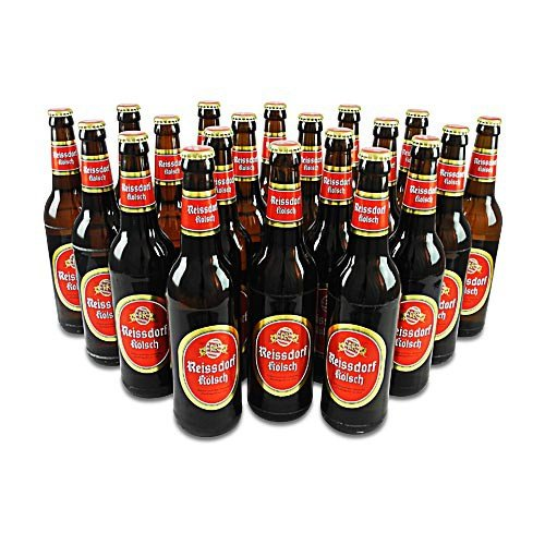 Reissdorf Kölsch (20 Flaschen à 0,5 l / 4,8 % vol.) inc. 1.60€ MEHRWEG Pfand
