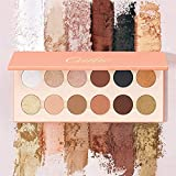 Oulac Pro 12 Colores Mate Nude Natural Paleta de sombras de ojos, Altamente pigmentado Duradero Impermeable y resistente al sudor Profesional Maquillaje Kit de belleza, 24,9 g