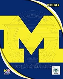 Photofile PFSAAOK08901 University of Michigan Wolverines Team Logo Poster by Unknown -8.00 x 10.00