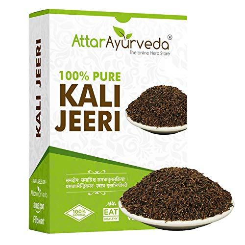 Attar Ayurveda Original Kali Jeeri - 100 grams