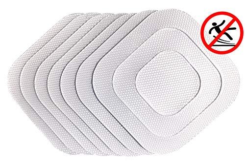 cocofy Anti Rutsch Sticker für die Badewanne und Dusche, Extra starker Halt, Antirutsch Pads Extra rutschfest - Ø 12 cm – 21-Pack (7 groß, 7 mittel, 7 klein)
