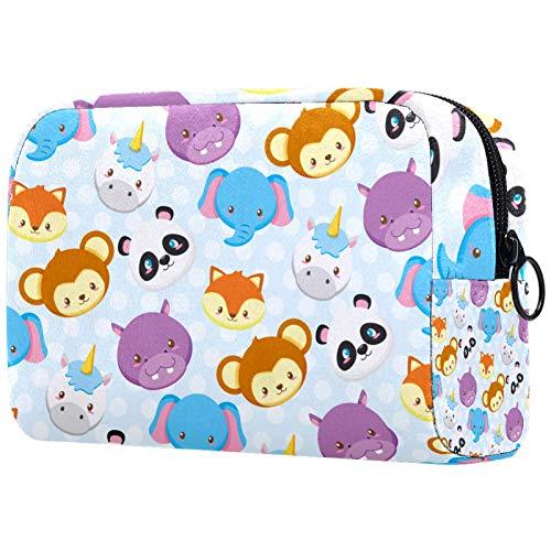 Neceser de viaje, bolsa de viaje impermeable de alta calidad con cremallera mejorada, mariposa colorida dibujada a mano
