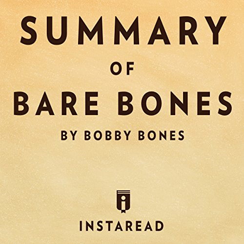 Couverture de Summary of Bare Bones by Bobby Bones | Includes Analysis