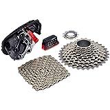 SRAM Red ETAP WIFLI Kit de Cambio, batería, Cassette, XG-1190, 11-32, Cadena, Multicolor, M