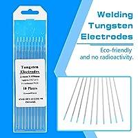 費用対効果の高い溶接タングステン電極を使用してランタン処理された長いタングステン電極溶接機用の専門のタングステン電極棒(2.4mm*150mm)
