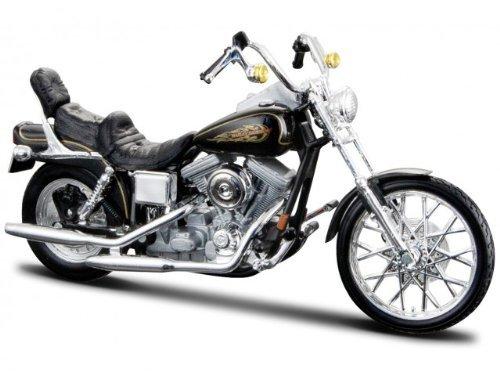 Harley Davidson Modell, 1997 FXDWG Dyna Wide Glide (32), Maisto Motorrad 1:18