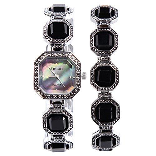 Time100 Reloj para Mujeres Color Negro