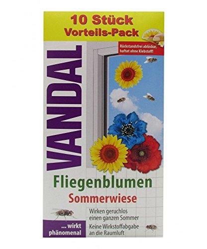 Vandal Papillon Fiori prato estivo–Confezione da 10pezzi