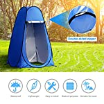 Laelr Pop up Toilet Tent, 4 Pack Shower Privacy Toilet Changing Room Changing Tent Foldable & Portable Beach Dressing… 9