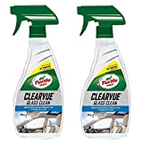 Turtle Wax 51781 Clearvue Car Glass Window Cleaner 2 x 500ml