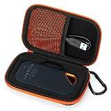 Houssee Schutzhülle für SanDisk Extreme Pro Portable SSD, Hartschalen-Schutz