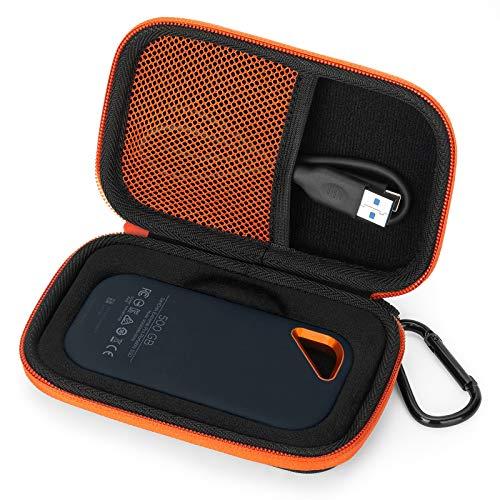 Aobika Custodia per SanDisk Extreme PRO SSD Portatile, Borsa Protettiva Cover Case