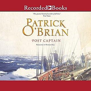 Post Captain audiobook cover art