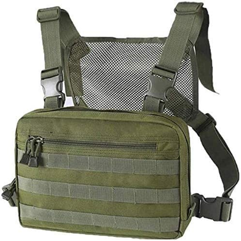 Today's only Will Outdoor Chest Bag Max 78% OFF Tactical B Strap MOLLE Front Combat