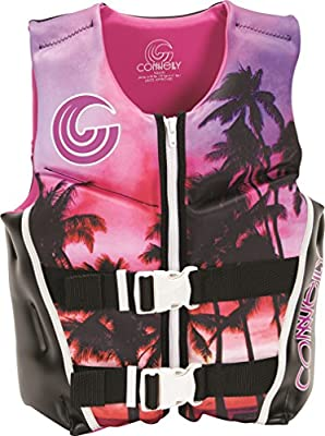 """Connelly Youth Neoprene Vest, 24""""-29"""" Chest; 50-90Lbs, Conn Girl-17"""