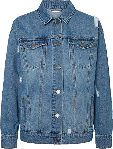 Noisy may NMAngie W Jeansjacke medium Blue