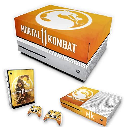 Capa Anti Poeira e Skin para Xbox One S Slim - Mortal Kombat 11