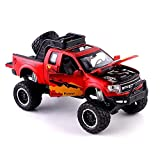 DZX Juguetes educativos, simulación, aleación, Modelo de Coche, 1:32, camioneta Pickup con...