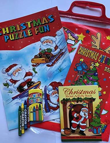 W.F. Graham Christmas Activity Pack, Multicolour