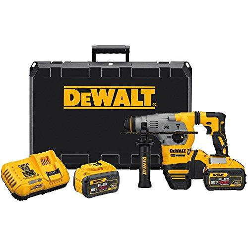 DEWALT 20V MAX XR Rotary Hammer Drill, L-Shape, SDS Plus, 1-1/8-Inch (DCH293X2)