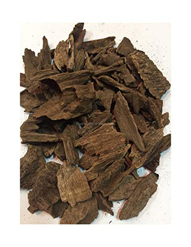 Agarwood Chips Oud Chips Incense Aroma | Natural Wild and Rare Agarwood Chips from Oudwood Vietnam | Pure Material Grade A++ | 100 Grams