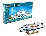 Revell Maqueta de Buque Crucero Aida, Kit de Modelo, 1:1200 Escala, (5805)(05805), Multicolor, 16,1 cm de Largo